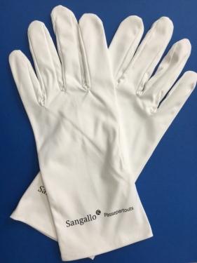 SANGALLO Mikrofaser-Handschuhe Größe M