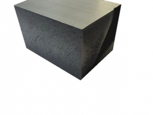 Styro Schaumblock anthrazit 80 mm 19x40