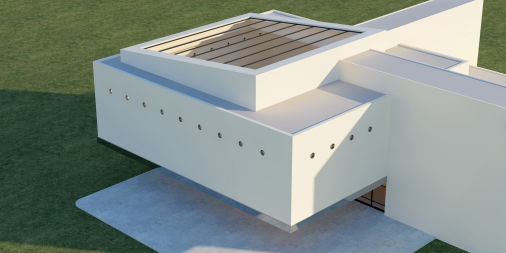 Materialien für Architektur Modellbau