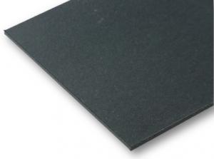 Buchbinderpappe schwarz 2,0 mm