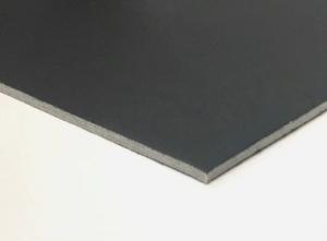 Displaypappe schwarz 1,6 mm