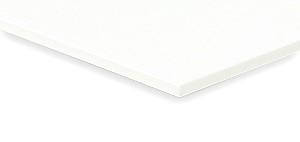 Polystrolplatte weiß