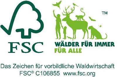 FSC Zertifizierung für Pappe