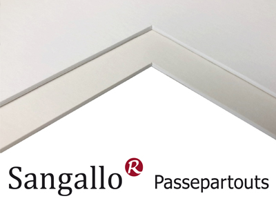 Sangallo und Crescent Passepartouts